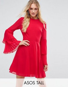 asos-tall-asos-tall-triple-pleated-sleeve-mini-skater-dress-BtPpndTsz25TrEge1xz2a-300