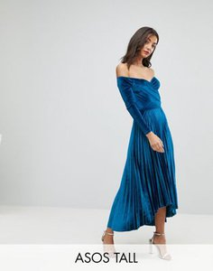 asos-tall-asos-tall-velvet-wrap-bardot-pleated-midi-dress-VqU27SACo2y1p7NnEHbZp-300