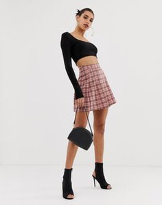 boohoo-boohoo-pleated-mini-skirt-in-pink-check-bfSdhAuUq2LVGVTdZBseG-300