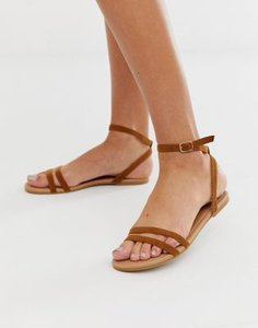 boohoo-boohoo-strappy-flat-sandals-with-ankle-strap-in-tan-ZXMAEctGC2Sw1cqjvqQv1-300