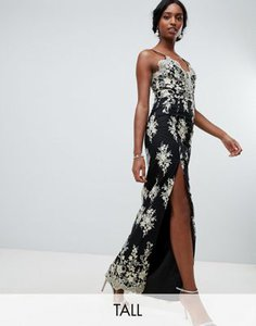 chi-chi-london-tall-chi-chi-london-tall-scalloped-plunge-maxi-prom-dress-with-gold-embroidery-in-black-4CVSD5too2bXsjFQLQ4zD-300