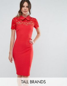 city-goddess-tall-city-goddess-tall-collared-pencil-dress-with-lace-yoke-gecJ7u9kN27azDn1ysFd3-300