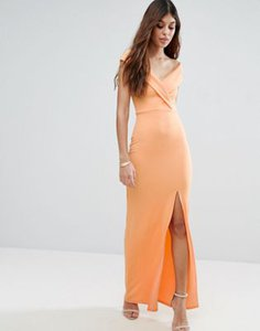 club-l-club-l-bardot-crepe-detail-maxi-dress-with-front-split-WaYjmJ7L32rZDy2iVdPT5-300