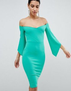 club-l-club-l-bardot-pencil-dress-with-3-4-sleeve-eGS8HDCWZ2LV6VVHLB4Gh-300