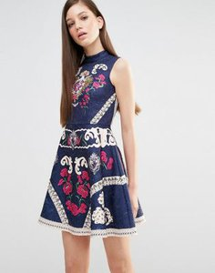 comino-couture-comino-couture-high-neck-skater-dress-with-engineered-print-and-embellishment-zTryoPEJrRqSP3bnXZC-300