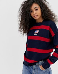 daisy-street-daisy-street-jumper-with-usa-embroidery-in-contrast-stripe-1MSNm35Rq2LVpVVBmBViB-300