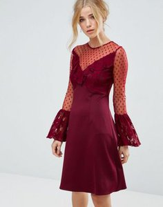 elise-ryan-elise-ryan-a-line-mini-dress-with-lace-frill-fluted-long-sleeve-FkSdbHSpw2LVuVUUNBEdJ-300