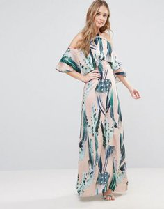 every-cloud-every-cloud-cactus-print-halterneck-maxi-with-ruffle-yAMRzjjQ12Sw1conZqZqX-300
