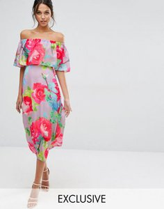 every-cloud-every-cloud-rose-print-off-shoulder-frill-midi-dress-CRpibJtJiSzSd3anfzD-300