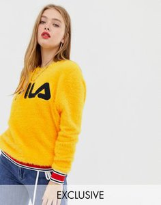fila-fila-jumper-with-sports-waistband-and-logo-front-in-fluffy-knit-ErVvKWeHJ2bXijFtsQn7p-300