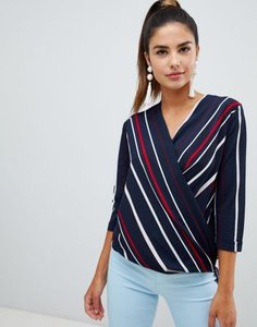 forever-unique-forever-unique-striped-wrap-blouse-5gXqxr5zX2E3yM7CNXuBj-300
