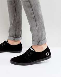 fred-perry-fred-perry-byron-low-suede-trainers-in-black-4fYjGhams2rZzy1mtduxf-300