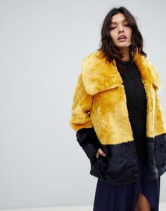 french-connection-french-connection-faux-fur-coat-in-coloublock-wtUH8fWX32y1e7M1pHZWE-300