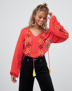 glamorous-glamorous-embroidered-blouse-with-tassel-detail-7ySsPsJqH2LVCVU4VBjLH-300