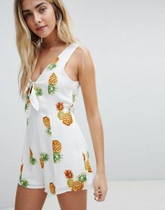 honey-punch-honey-punch-playsuit-with-tie-front-in-pineapple-print-KjMfYg8aa2SwLcpagqbJB-300