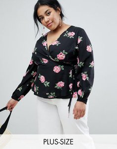 influence-plus-influence-plus-floral-print-wrap-blouse-xmQUsiawN2hybsbQe4NQa-300