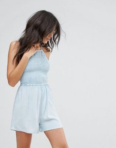 influence-influence-shirred-halter-neck-playsuit-qwMQYTnjN2Swdcq8JqdLq-300