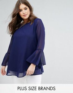 koko-koko-navy-bell-sleeve-embroidered-neck-blouse-vmc3voGw627adDnpGssSe-300