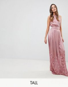 little-mistress-tall-little-mistress-tall-ruffle-high-neck-maxi-dress-with-lace-pleated-skirt-KTX58B2S32E3CMASUXEMF-300