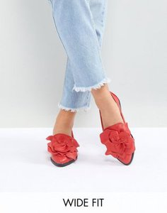 lost-ink-wide-fit-lost-ink-wide-fit-red-flower-trim-flat-shoes-8iSdbHSLt2LVbVU4FBEda-300