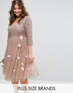 lovedrobe-luxe-lovedrobe-luxe-3-4-sleeve-v-neck-midi-dress-with-delicate-sequin-and-tulle-skirt-RpSdJYSDr2LVjVUCqBBNi-300