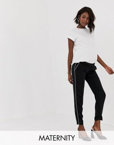 mama-licious-mamalicious-sport-stripe-trousers-RXUX67v1T2y1P7NotHUSW-300
