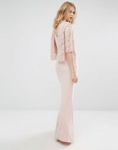 mango-mango-high-neck-lace-top-maxi-dress-4Bdd6u9JcRNS93Mnucr-300