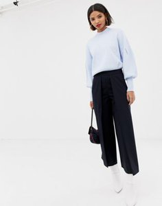 mango-mango-pleat-front-wide-leg-cropped-trouser-in-navy-5bS8axBeX2LVoVVQwB7X3-300