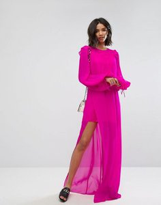 mango-mango-silk-chiffon-maxi-dress-in-bright-pink-vfc2BnKCP27aBDpkJssgH-300