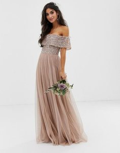 maya-petite-maya-petite-bridesmaid-bardot-maxi-tulle-dress-with-tonal-delicate-sequins-in-taupe-blush-SJScy8xD72LVmVVRmBsto-300