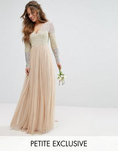 maya-petite-maya-petite-long-sleeve-v-neck-tulle-maxi-dress-with-multi-colour-sequin-CFKUcuCJDTFS83TnJkU-300