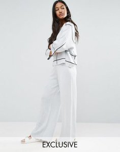 micha-lounge-micha-lounge-grid-wide-kintted-trousers-16ZUbiCJnSwSP3nnpY2-300