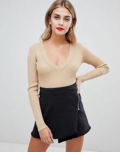 missguided-missguided-plunge-knitted-body-in-camel-MjYEFNL5X2rZKy2EAdnra-300