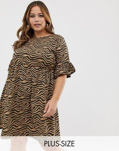 missguided-plus-missguided-plus-smock-dress-with-frill-sleeves-in-animal-print-DzaeHuXNK2V4tbtUikgHh-300