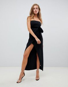 missguided-missguided-strapless-front-wrap-velvet-belted-midi-black-S3XL8QNGH2E3tM9FEXCJM-300