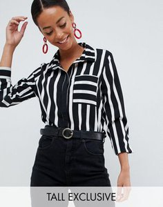 missguided-tall-missguided-tall-exclusive-tall-shirt-in-mono-stripe-wjaPMnhpL2V4ZbvmfkJLN-300