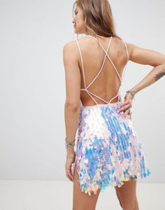 motel-motel-tie-back-mini-dress-with-split-in-teardrop-sequin-eyYjMo6Y52rZ4y2cvdVyT-300