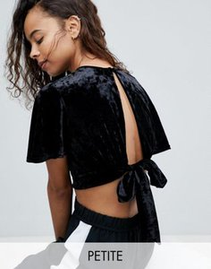 new-look-petite-new-look-petite-velvet-split-front-crop-top-in-black-PaSsajqHN2LVjVVHvB9Zt-300