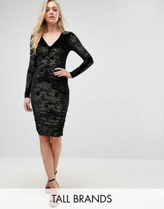 new-look-tall-new-look-tall-velvet-foil-ruched-bodycon-dress-hLqRycPJqRCSt3qnNLV-300