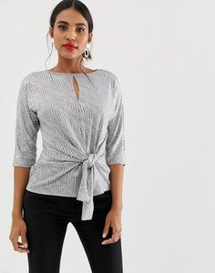 oasis-oasis-blouse-with-knot-front-in-silver-UsQTe57cZ2hy9scpT4uAB-300