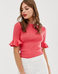 oasis-oasis-flare-cuff-jumper-in-pink-6CX6Shxup2E3YM8JAXLcD-300