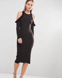 oh-my-love-oh-my-love-cold-shoulder-midi-dress-with-frill-detail-s3Y2UPKJ6SZSP3YnV8C-300