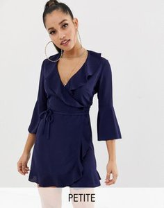 outrageous-fortune-petite-outrageous-fortune-petite-ruffle-wrap-dress-with-fluted-sleeve-in-navy-AfXLenqg82E3pM8jhXiou-300
