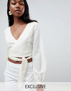 parallel-lines-parallel-lines-wrap-front-blouse-with-ties-ZrMAwrtB62Sw6cqhHqMff-300