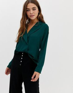pimkie-pimkie-v-neck-fluid-blouse-in-dark-green-a3PqgsSh225ToEgpMx9ok-300