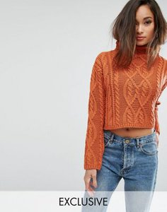 prettylittlething-prettylittlething-cable-knit-cropped-jumper-MAaeB25ER2V4bbuRsk3GY-300