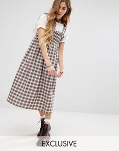 reclaimed-vintage-reclaimed-vintage-midi-dress-in-check-with-shirring-QAYVnrhNZ2rZuy1xfdUWf-300
