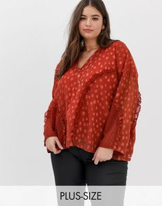 religion-plus-religion-plus-oversized-blouse-with-frill-detail-in-dobby-spot-DQPqgsSi225TyEg5Vx9oe-300