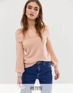 river-island-petite-river-island-petite-bardot-top-in-pink-21VgvYE2y2bXfjEy4Qyh3-300