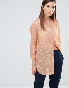 selected-selected-valeria-long-sleeve-dot-collarless-shirt-4oqgoGMJeQLSt39nc5Y-300